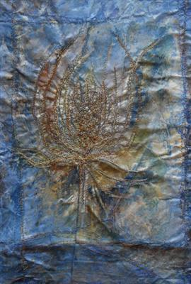 Stitched teasel