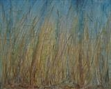 Down among the grasses summer morning walk on the Ridgeway.. by Amanda Hislop, Textiles