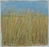 Grasses move in the summer breeze... by Amanda Hislop, Textiles